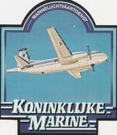 KONINKLIJK MARINE 2-tal Stickers - Bateaux