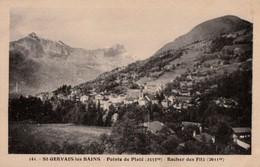 ST-GERVAIS-les-BAINS. - Pointe De Platé - Rocher Des Fitz - Saint-Gervais-les-Bains