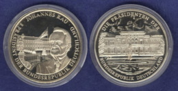Medaille 1999 Johannes Rau 40mm Neusilber - Allemagne