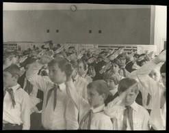 1970s SOVIET PIONEER Always Ready! Recruitment Parade USSR Original Photo - Photographs