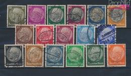 Deutsches Reich 512-528 (kompl.Ausg.) Gestempelt 1933 Hindenburg (9289683 - Deutschland