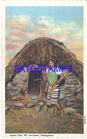 108784 PHILIPPINES MT PROVINCE COSTUMES IGOROT GIRL POSTAL POSTCARD - Philippines