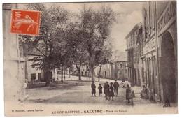 SALVIAC - Place Du Foirail - Salviac