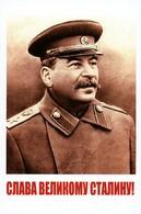 """Glory To Great STALIN!"" Propaganda Socialist Realism Russian Postcard - Illustratori & Fotografie"
