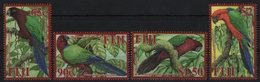 Fidschi 2008 - Mi-Nr. 1234-1237 ** - MNH - Vögel / Birds - Fiji (...-1970)