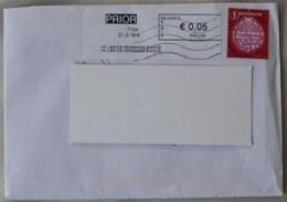 België 2019 PP Libr De Peronnes Binche 7134 - PRIOR In Zwart Kader - Postage Labels