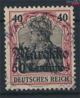 Allemand. Post Maroc 52 Oblitéré 1911 Allemagne-surcharge (9290813 (9290813 - Deutsche Post In Marokko