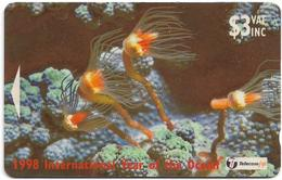 Fiji - Hydroid Tubularia - 24FJB - 1998, 95.000ex, Used - Fiji