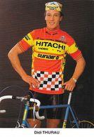 Cycliste: Dietrich (Didi) Thurau, Equipe De Cyclisme Professionnel: Team Hitachi Sunair, Allemagne 1985 - Sports