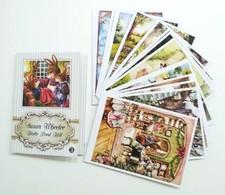 SET Of 16 Pcs SUSAN WHEELER. HOLLY POND HILL. Modern Postcard In Folder Vol. 3 - Animals