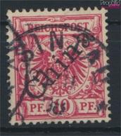 Dt. Post China 3I A Diagonaler Aufdruck Gestempelt 1898 Aufdruckausgabe (9290622 - Offices: China