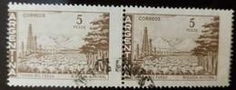 O) 1971 ARGENTINA, PERFORATION ERROR, AUSTRAL WEALTH -TIERRA DEL FUEGO -RIQUEZA AUSTRAL, WITH CANCELLATION, XF - Argentina