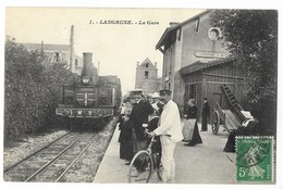CPA 14 LANGRUNE La Gare - Frankrijk