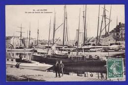 LE HAVRE Vue Interessante Du Port De Commerce (Très Très Bon ETAT) TZ976 Y35 - Le Havre