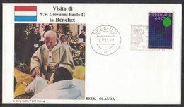YN181     Nederland 1985 Visita Di S.S. Giovanni Paolo II  In Benelux - Beek  FDC Roma - Papi