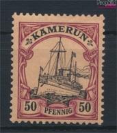 Kamerun (Dt. Kolonie) 14 Mit Falz 1900 Schiff Kaiseryacht Hohenzollern (9290708 - Kolonie: Kamerun