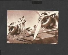 Nostalgia Postcard Flying Boat Coriolanus 1938 - 1919-1938: Between Wars