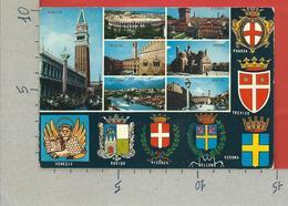 CARTOLINA VG ITALIA - VENETO - Vedutine Multivue Stemmi - 10 X 15 - ANN. 1978 - Non Classificati