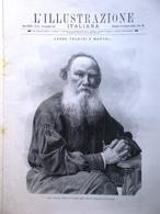 L'Illustrazione Italiana 20 Novembre 1910 Morte Di Leone Tolstoi Fogazzaro Galli - Libri, Riviste, Fumetti