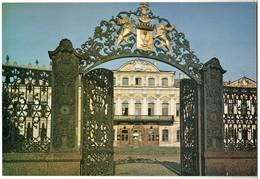 Sheremetev Palace Forged Fence Leningrad Photo Soviet 25x17 Cm Postcard - Illustratori & Fotografie