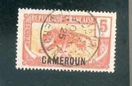 CAMEROUN KAMERUN N°87  OB JAUNDE 3 OCTOBRE 1925 TB - Cameroun (1915-1959)