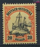 Deutsch-Ostafrika 34 Postfrisch 1911 Schiff Kaiseryacht Hohenzollern (9290733 - Kolonie: Deutsch-Ostafrika