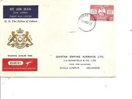 Johore (  FDC De 1955 à Voir) - Johore