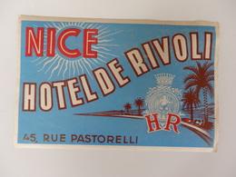 Hôtel De Rivoli 45, Rue Pastorelli à Nice (06). - Hotel Labels