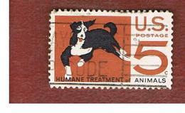 STATI UNITI (U.S.A.) - SG 1287 - 1966  HUMANE TREATMENT OF ANIMALS: DOG          - USED° - Stati Uniti
