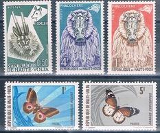 Alto 1960 / 71  -  Yvert 71 + 43 + 75 + 242 + 245  ( ** ) - Alto Volta (1958-1984)