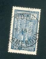 CAMEROUN KAMERUN N°123  OB POLI RARE  16 JUIN 1934 TB - Cameroun (1915-1959)