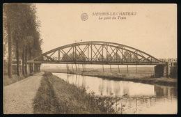 MERBES LE CHATEAU  - LE PONT DU TRAM - Merbes-le-Château