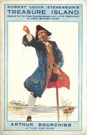 "STRAND THEATRE LONDON - ""TREASURE ISLAND"" WITH ARTHUR BOURCHIER ADVERTISING CARD #7521 - Publicité"