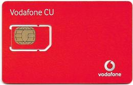 Greece - Vodafone CU (Red) Type 2 GSM Sim, Mint - Greece