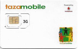 Greece - Vodafone TazaMobile White Design GSM Sim, Mint - Greece