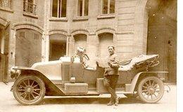 CARTE PHOTO  - Voiture Ancienne ( Superbe ) 1914-18 ? - Passenger Cars