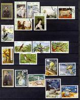1978 - Annata Di Francobolli Annullati - 5 Immagini - Cuba
