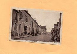 F1303 - PONT De GENNES - 72 - Rue De L'Eglise - Other Municipalities