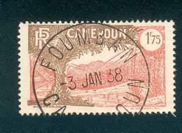 CAMEROUN KAMERUN N°146  OB FOUMBAN RARE 3 JANVIER 1938 TB - Cameroun (1915-1959)