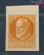 Bayern 134B I, Fehlender Aufdruck Postfrisch 1920 König Ludwig (8532475 - Bavaria