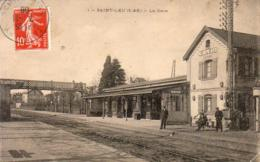 D95   SAINT LEU   La Gare  .............. ( Vue Intérieure ) - Saint Leu La Foret