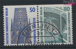 Berlin (West) W87 Gestempelt 1989 Sehenswürdigkeiten (9287637 - Berlin (West)