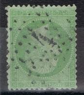 Etoile 4 Ex 24 Sur N°20 Très Bien - Marcophilie (Timbres Détachés)