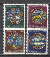 Q505N-SELLOS SUIZA SERIE COMPLETA  PRO PATRIA.1968 Nº807/10.HELVETIA.SUISSE - Pro Juventute