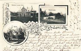 AK Gruss Aus Zehdenick, Victoria- Luisen- Stift, Klosterruine, Kirche, Gel. 1898 - Zehdenick