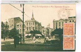 BRESIL PERNAMBUCO PRACA INDEPENDENCIA  RUA GONCALVES 1924 US19 - Brésil