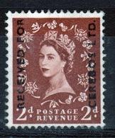 GB Queen Elizabeth Wilding Commercial Overprint Cinderella Stamp. - Cinderelas