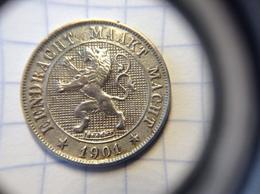 Belgie: 5 Cent 1901 VL. #253 - 1865-1909: Leopoldo II
