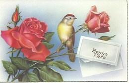 (a) Fetes & Voeux - Bonne Fete- Roses Et Oiseau - Fêtes - Voeux