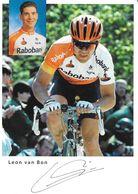 Cycliste: Leon Van Bon, Equipe De Cyclisme Professionnel: Team Radobank, Holland 2007 - Sport